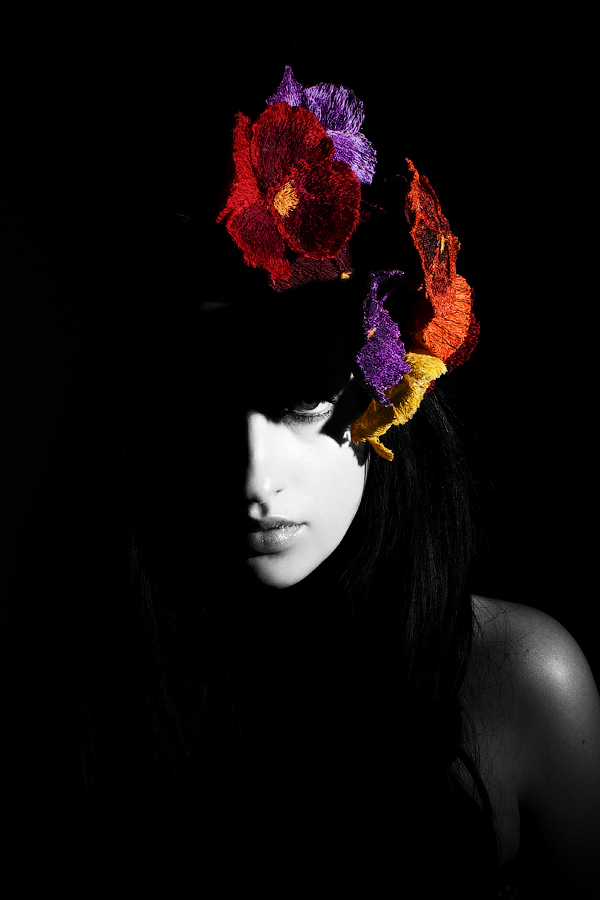 Pansy Hat